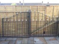 Wrought Iron Gates (10 Foot)