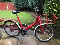 postmans pashley delivery bicycle