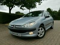 PEUGEOT 206 ALLURE 5DR HATCH MOT CHEAP CAR