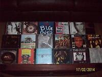 rock cd's,a few country