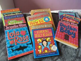 Jacqueline Wilson...selection of 10 Books!