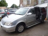 Kia SEDONA LX,7 seat MPV,service history,great family car,runs and drives very well,great on diesel
