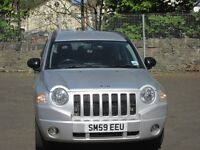 Jeep Compass 2.4 Limited Auto 4WD. Full Leather. Tow Bar