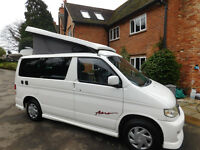 MAZDA BONGO AERO FACELIFT CAMPERVAN, X REG 4 BERTH LUXURY INTERIOR CONVERSION,