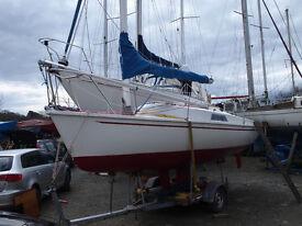2000 Freedom 21 Sailing Boat