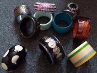 Bracelets - chunky. all new