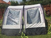 Kampa Rally air awning 260 caravan touring