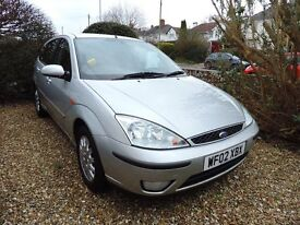 Ford Focus 2L 2002 - Silver, Automatic in vgc and well looked after.