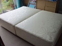 DOUBLE DIVAN BASE + FREE GIFT & DELIVERY(HULL)