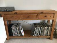Wooden Living Room/Kitchen Unit