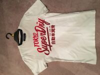 Men's superdry tshirt size small