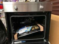 QSF212X BEKO Single Fan Oven silver, New