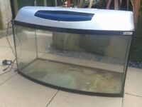 AQUA EL PEARL, BOW FRONT, FISH TANK AND ALL ACCESSORIES FOR SALE