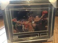 Signed Mike Tyson photo