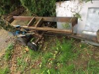 Ifor Williams towing dolly