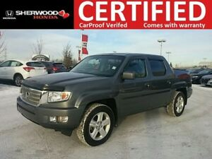 2012 Honda Ridgeline Touring 4X4 | NAVI| HEATED LEATHER| REMOTE