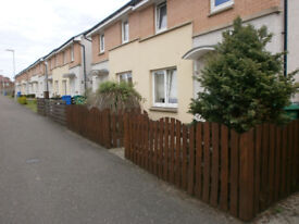 Two bedroom semi-deatched house, Dunfermline availablr for swap to one bed flat central Glasgow.