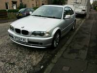 Bmw 318Ci SE Coupe, MOT 09/17, Full Bmw Service History, Great Condition, May swap car or van.