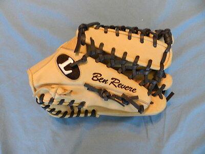 Ben Revere 2014 Philadelphia Phillies player used fielders glove