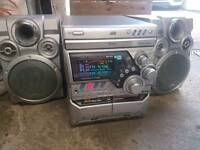 Jvc hifi cd player