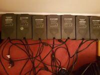 7 maxibright/eurolux 600w light kits