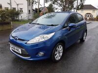 2009 Fiesta 1.25 Zetec Bluetooth ( New Shape ) Genuine 67k Fsh Hpi Clear with warranty