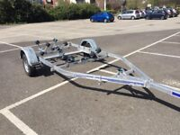 Excellent condition Indespension Roller boat trailer