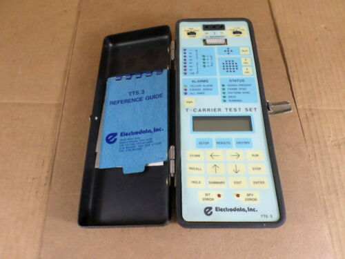 Electrodata Inc. TTS 3 T-Carrier Test Set Kit With Drop & Insert