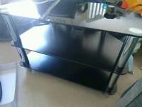 Black TV stand 📺