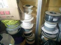 Various electrical items incl. Cable, sockets, light fittings etc
