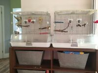 Two bird cages very good condition