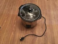 Brand new unused stainless steel Haden 3L slow cooker