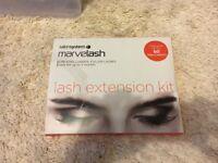 Salonsystem marvelash lash extension kit, brand new & unused