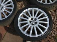 Volkswagen Golf MK4 R32 Alloy Wheels Genuine OEM set 18inch 5x100 Bora Leon TT