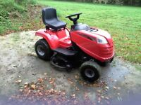 Mountfield ride on tractor mower