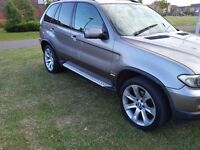 "2006 BMW X5 3.0d SPORT FSH SATNAV/TV 20"" ALLOY WHEELS (MAY TAKE CHEAP PX P/X PART EXCHANGE WHY?)"