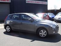 hyundai i30 comfort 1.4 2009 5 door hatchback 49000 miles bargain £2395