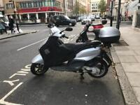Piaggio fly 100cc grey 2006 start & drive on good condition