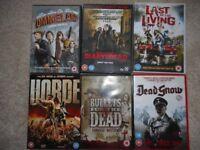 Zombies - 6 DVD's