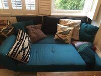 Sofa bed salsa click clack from Cargo homestore
