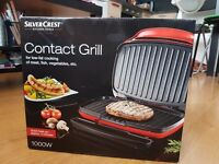 Brand New Silvercrest Contact Grill
