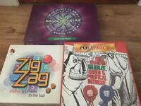 Three board games