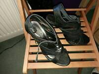 High heel shoes size 7
