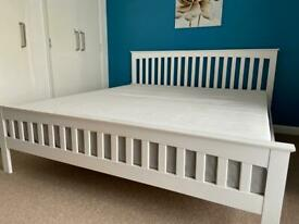 Superking Size Bed + Dormeo Hybrid Mattress
