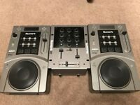 Numark CDJs With Numark M1 mixer