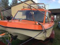 Cjr 16ft fishing boat
