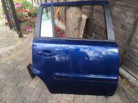 Vauxhall Zafira rear right hand side door