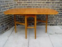 FREE DELIVERY Retro Drop Leaf Table Wooden Vintage Furniture