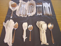 Firth Staybrite Cutlery set 43 pieces brand new