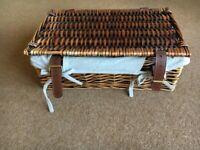 Wicker Hamper/Basket - Halloween/Christmas Hamper - REDUCED